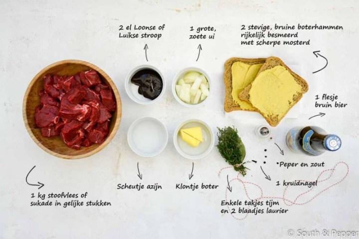 ingredientes stof